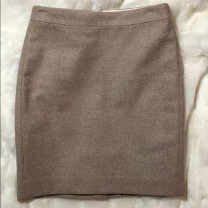 J.Crew Wool Skirt. Size 0P